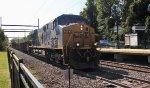 CSX 5483 on work train W051-17